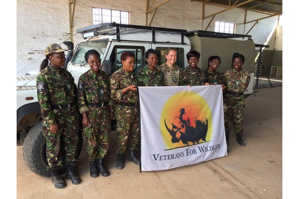 Black Mamba APU and Veterans for Wildlife