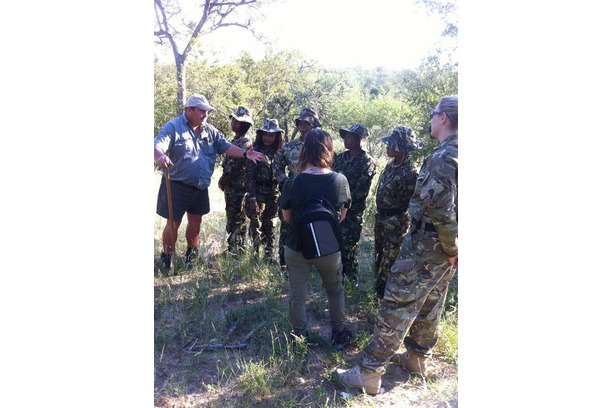 Black Mamba anti-poaching team brush up on skills