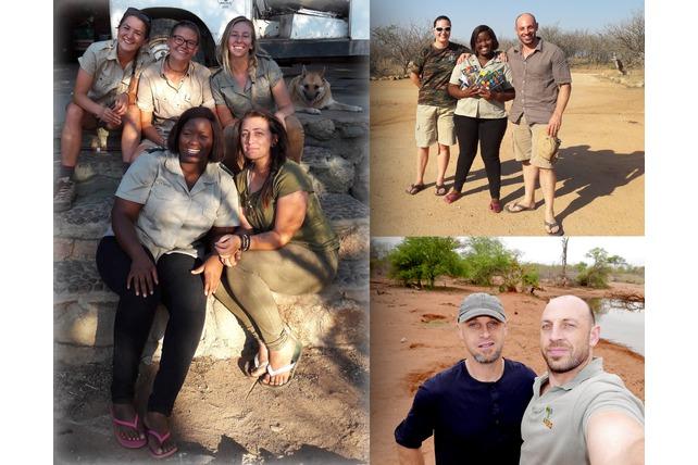Transfrontier Africa, Adrian, staff & volunteers