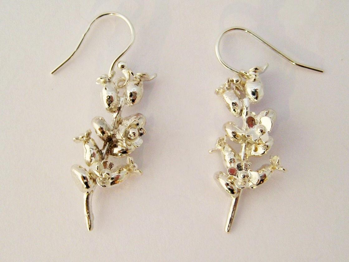 Lavender Drop Earrings