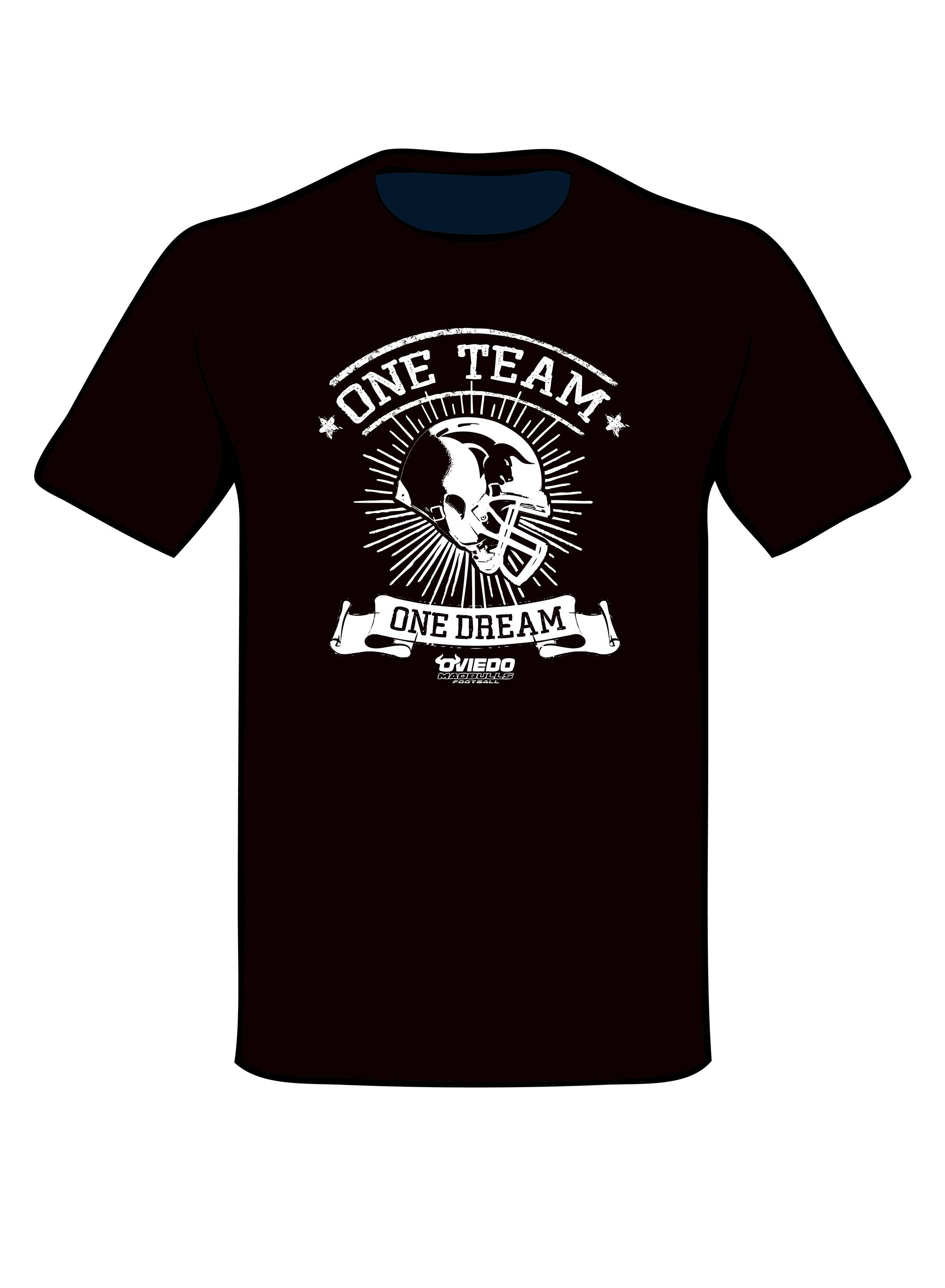 Camiseta Madbulls Negra