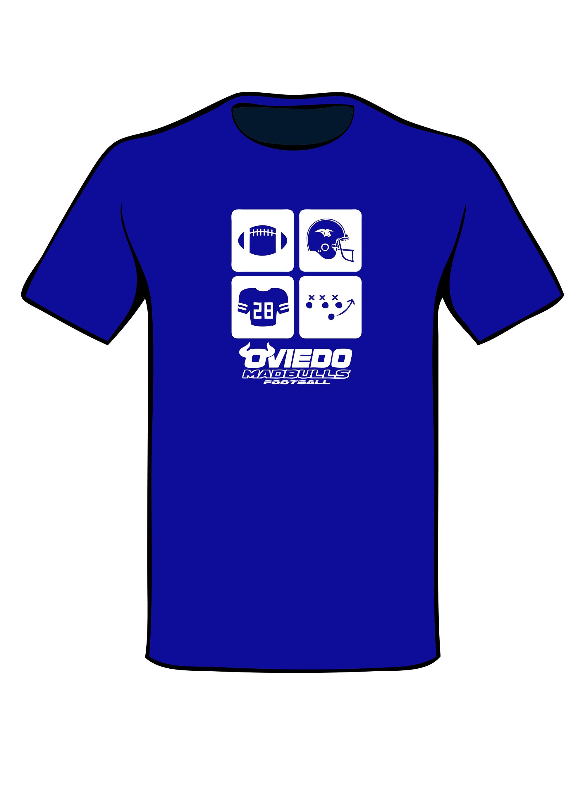 Camiseta Madbulls Azul