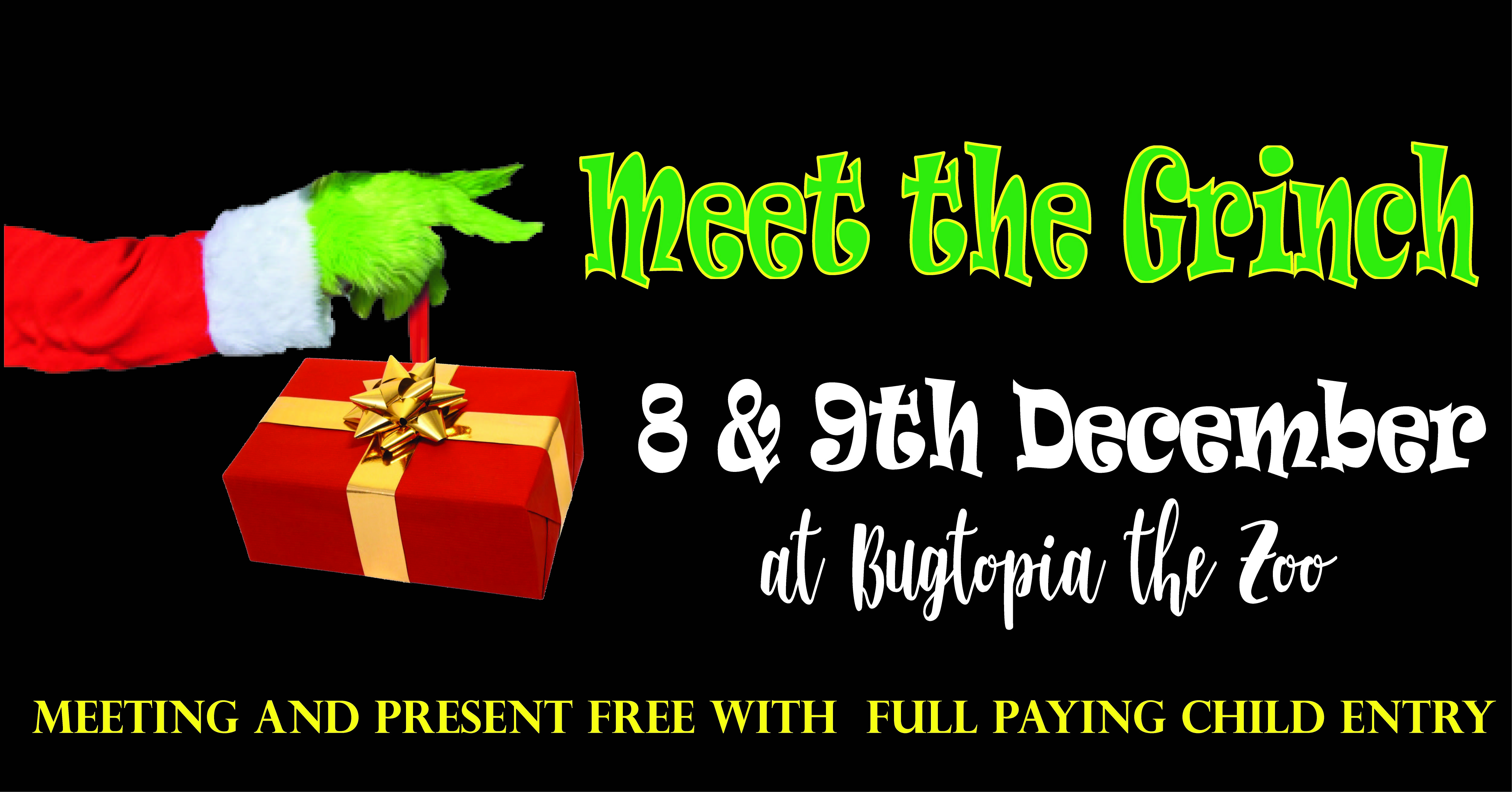 Grinch day zoo entry 9th december