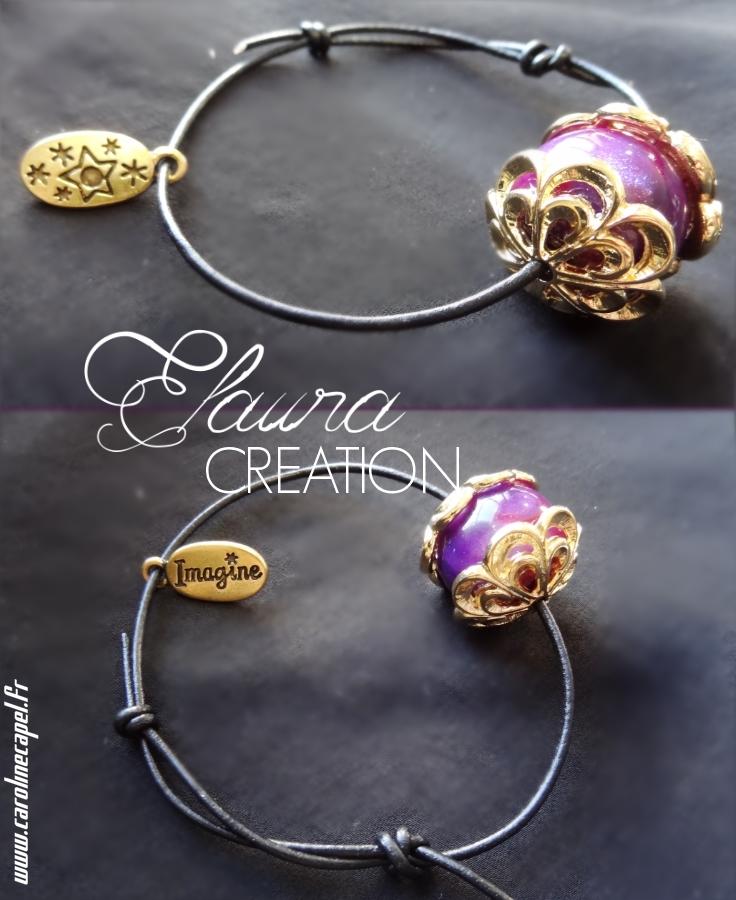 Bracelet Cuir Réglable