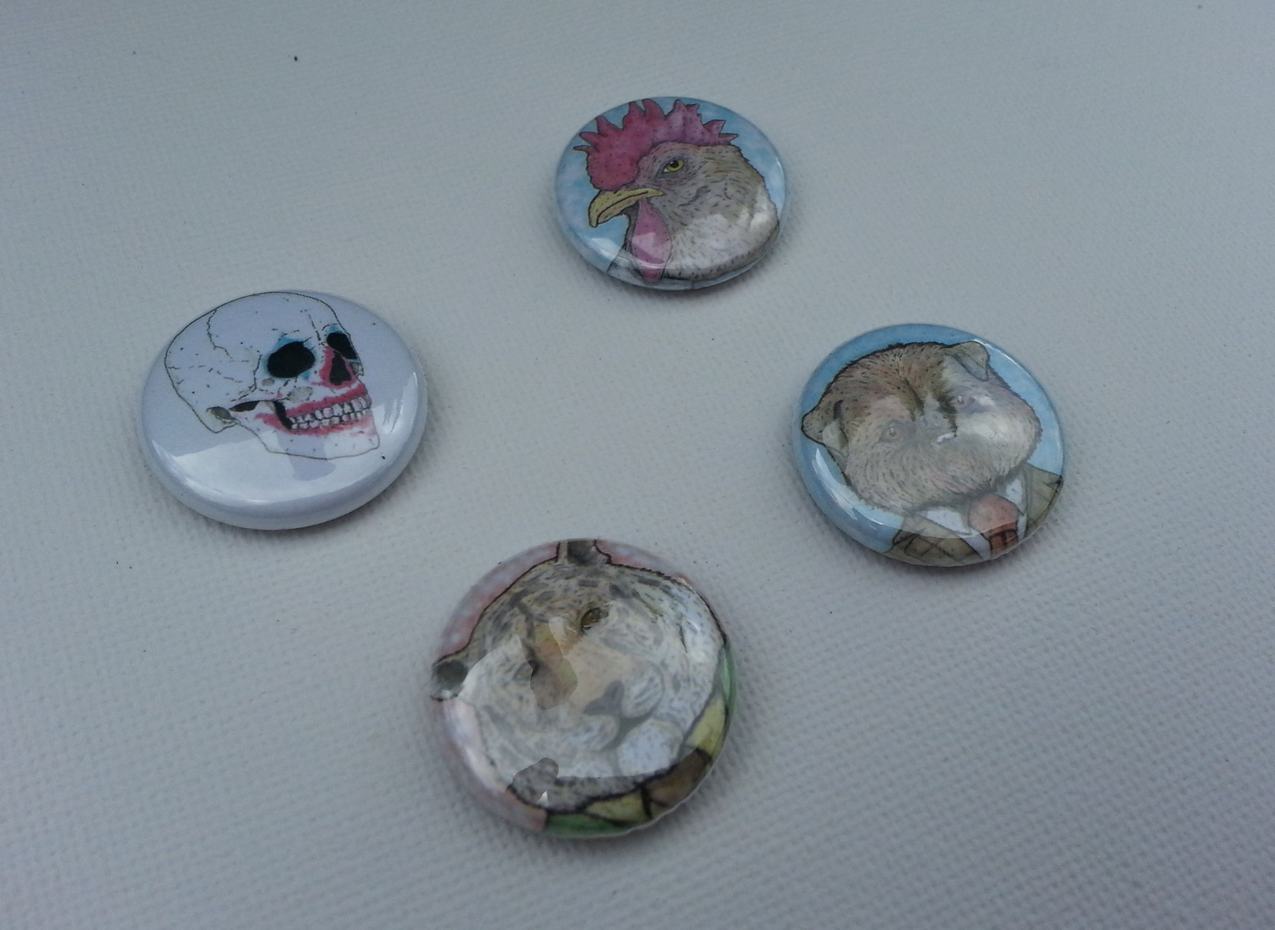 25mm Pin Badges