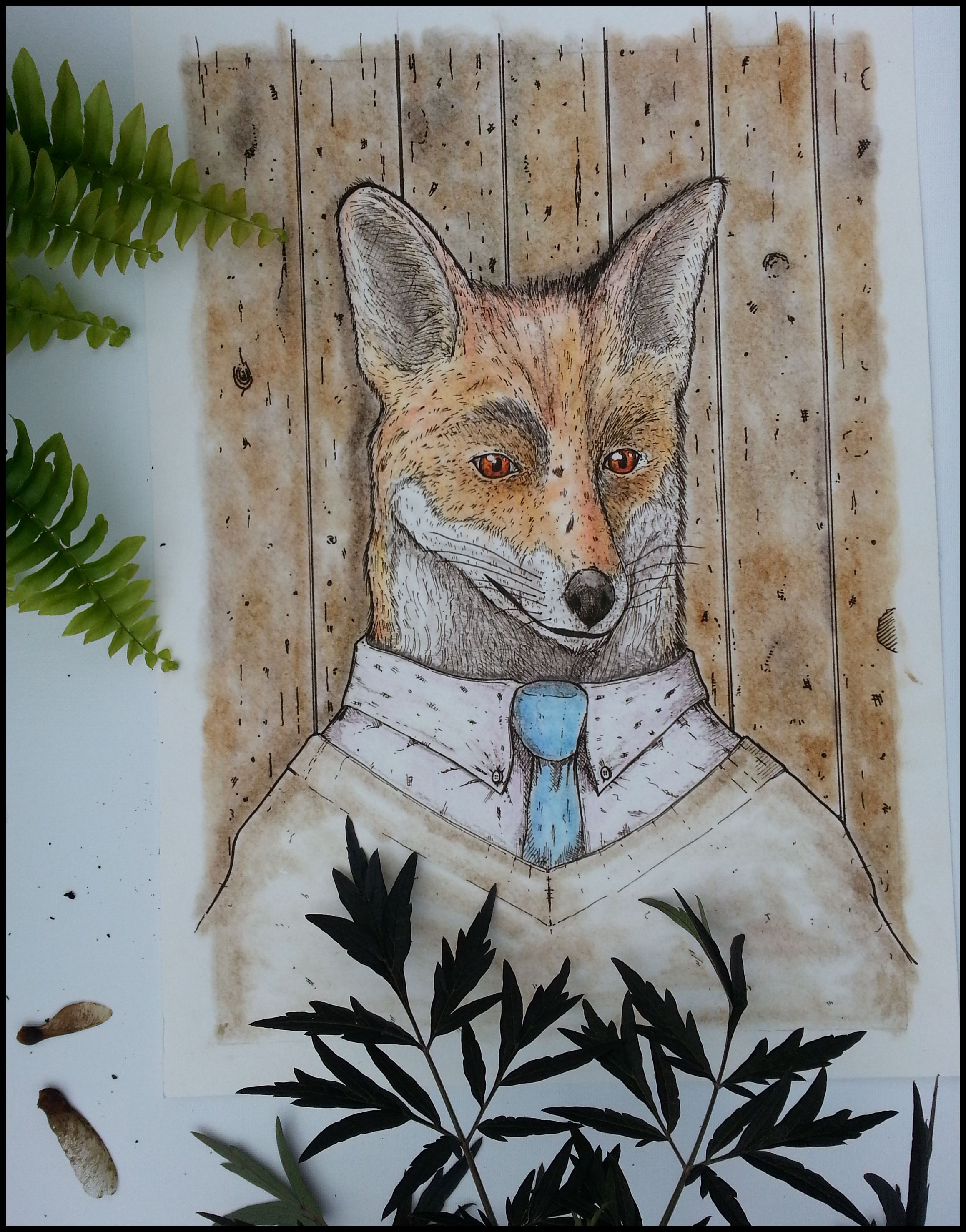 Mr. Fox Giclee Print