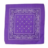 Lilac 100% Cotton Bandana