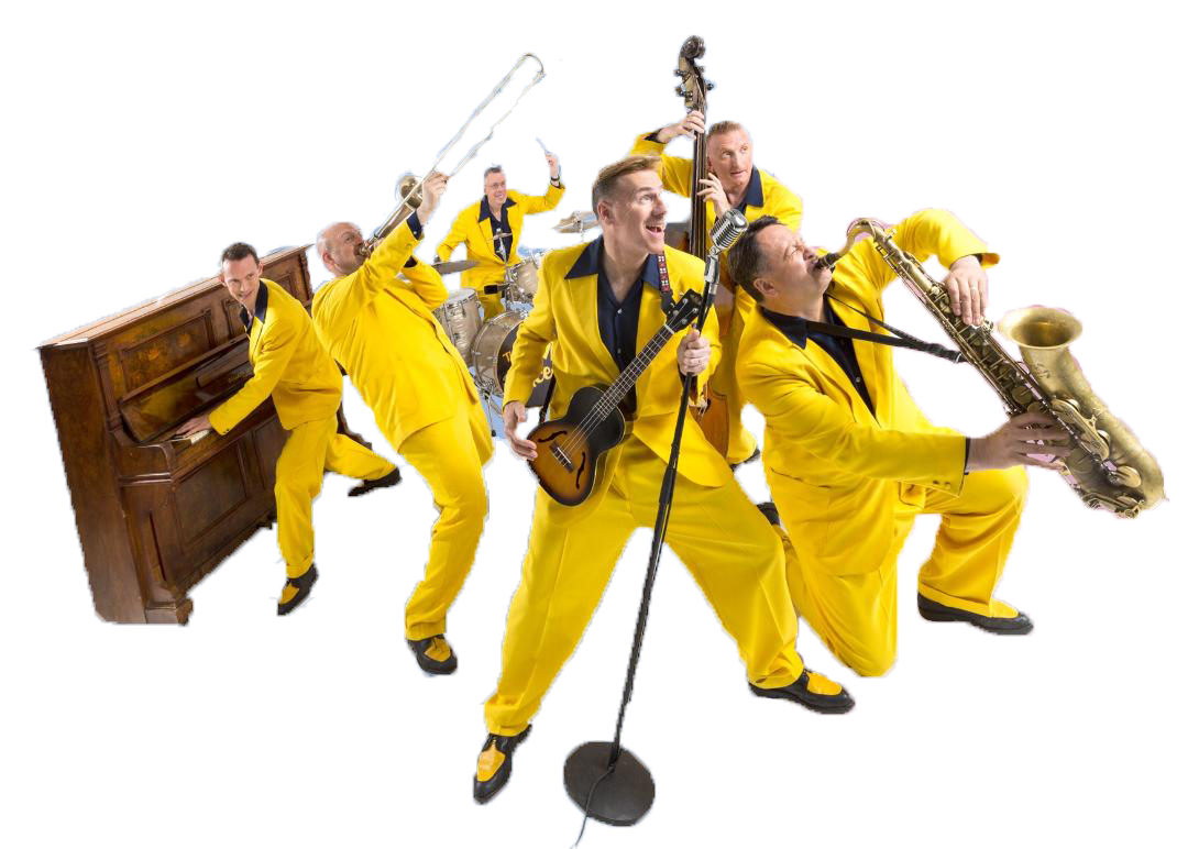 The Jive Aces Saturday 29th September 2018