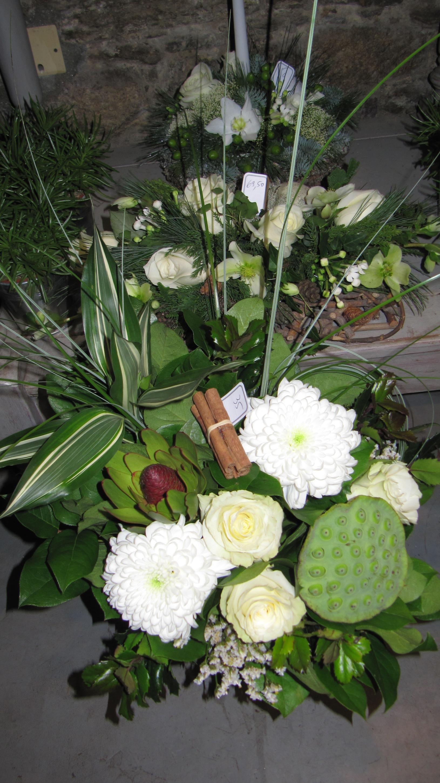 Bouquet blanc et vert (BN-2)