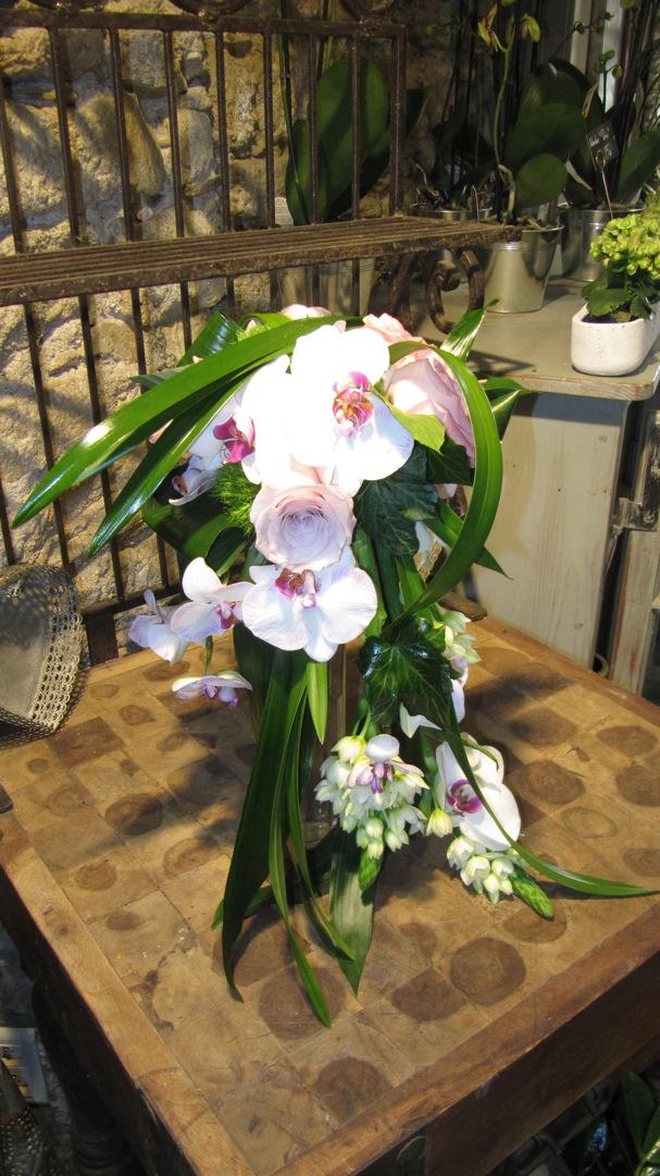 Bouquet orchidées (BN-4)