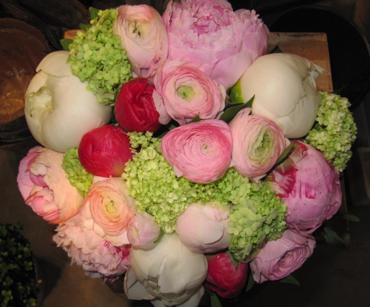Bouquet esprit jardin