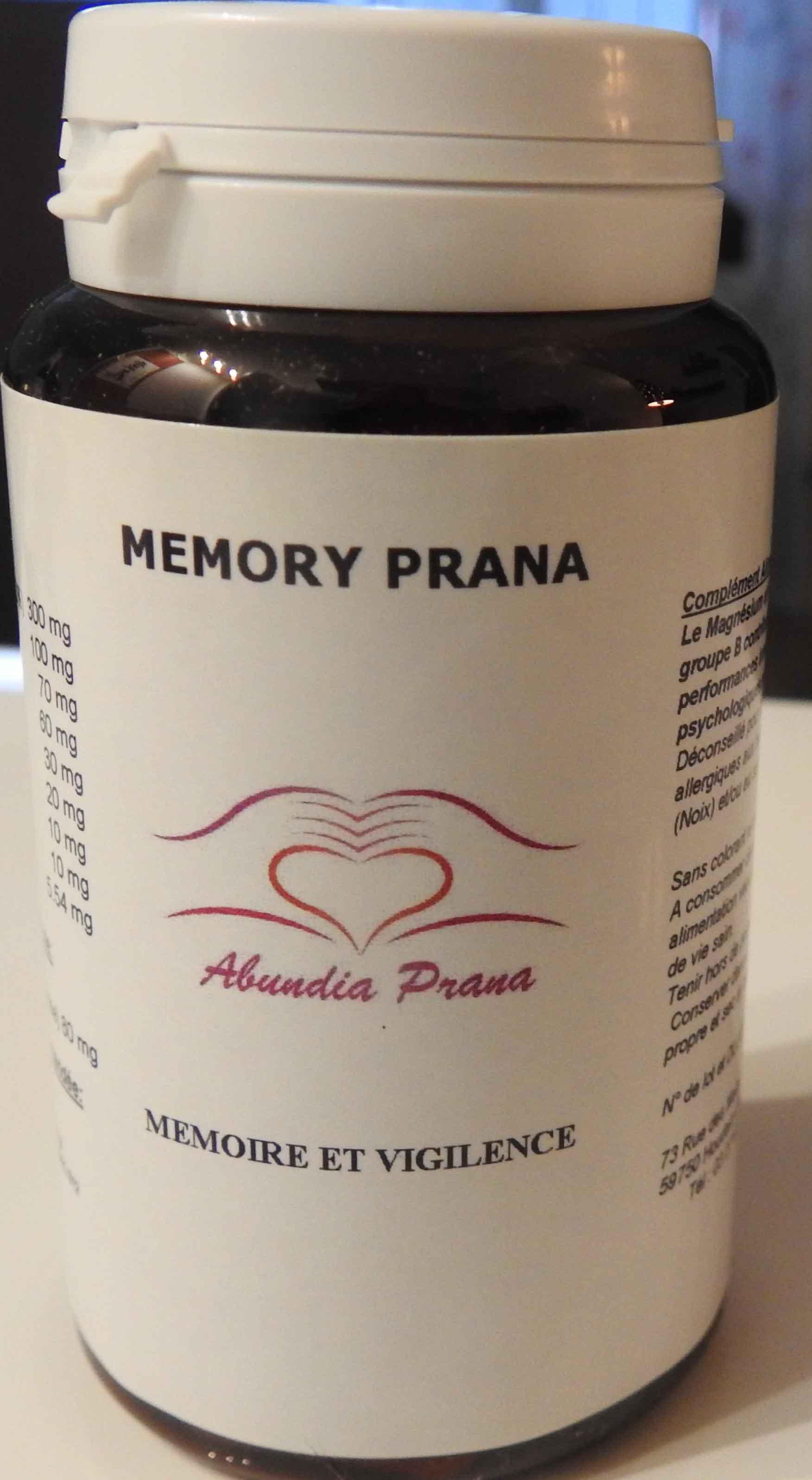 Memory prana