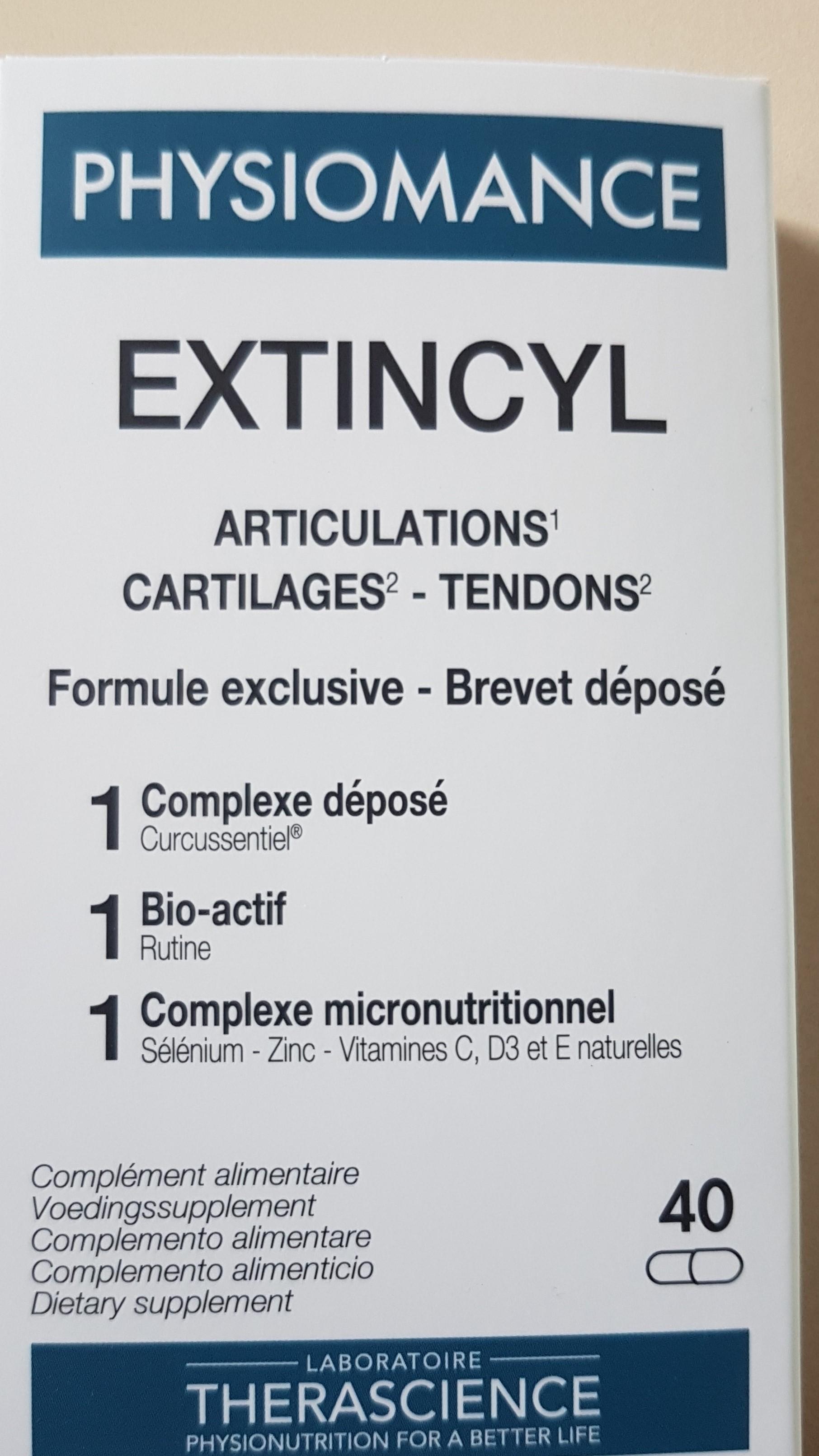 Curcuma-prana - Extincyl-nouvelle formule