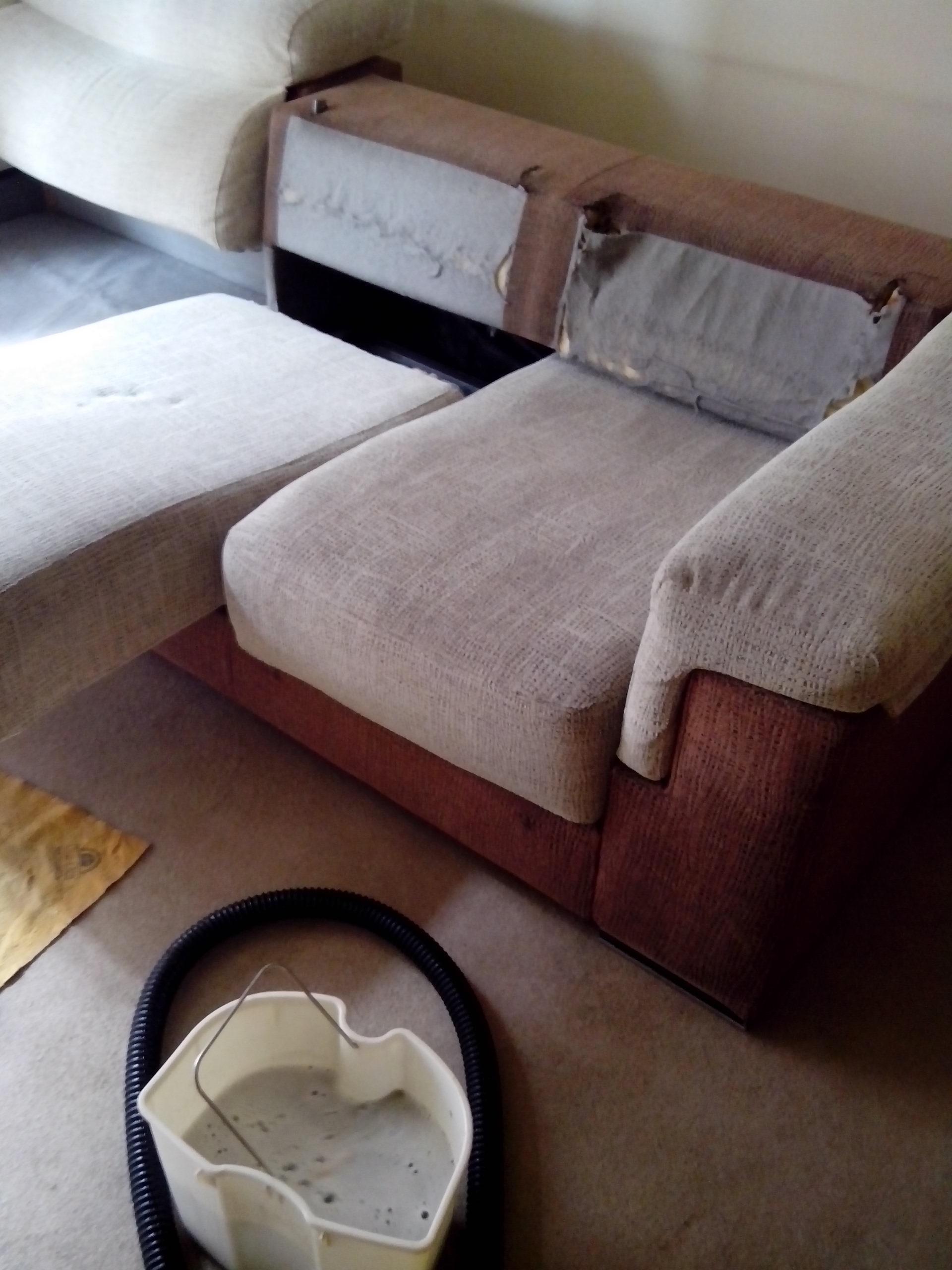 Limpieza de sofás y butacas