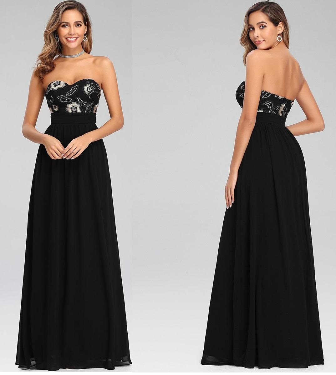 Vestido Largo 7060 talla 44
