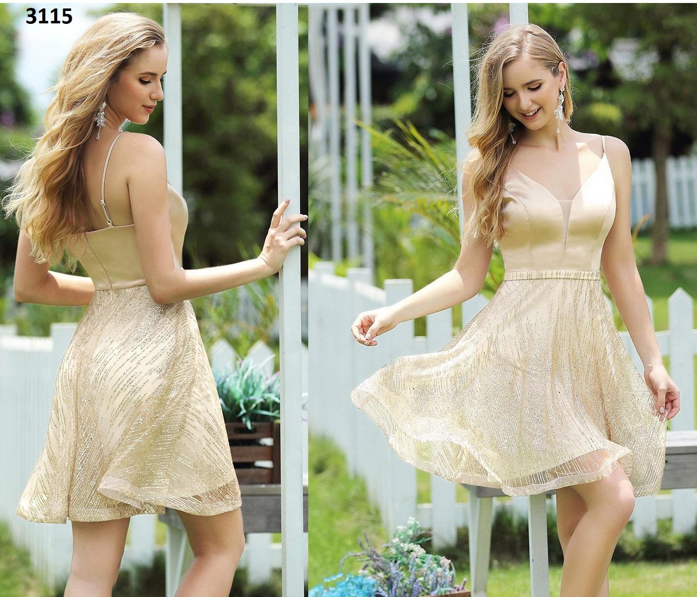 Vestido Corto 3115 talla 40