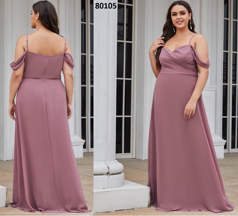 escote corazón una línea de vestidos de dama de honor 80105