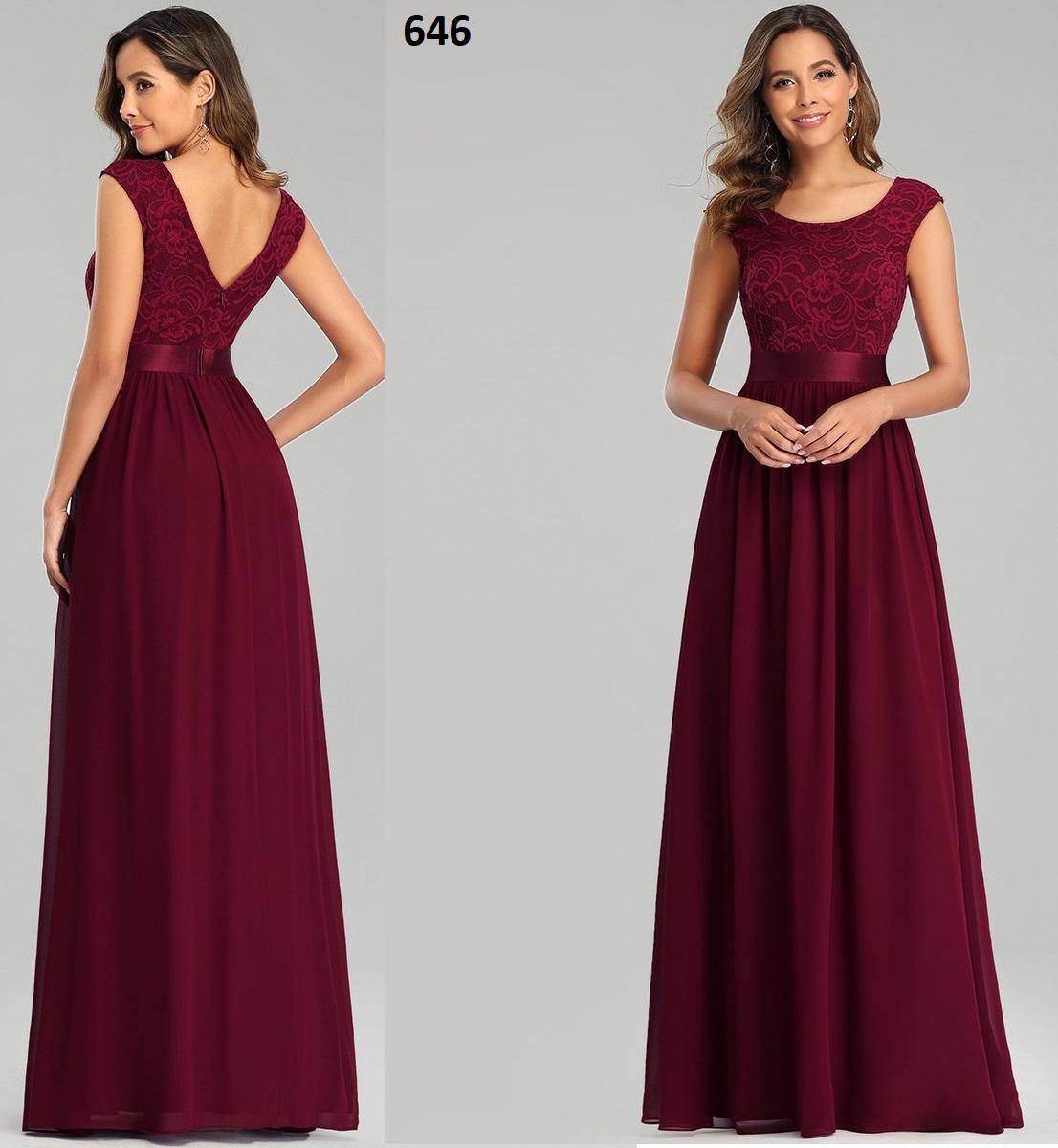 Vestidos de dama 646 de honor Fahion  siempre bonitos con encaje