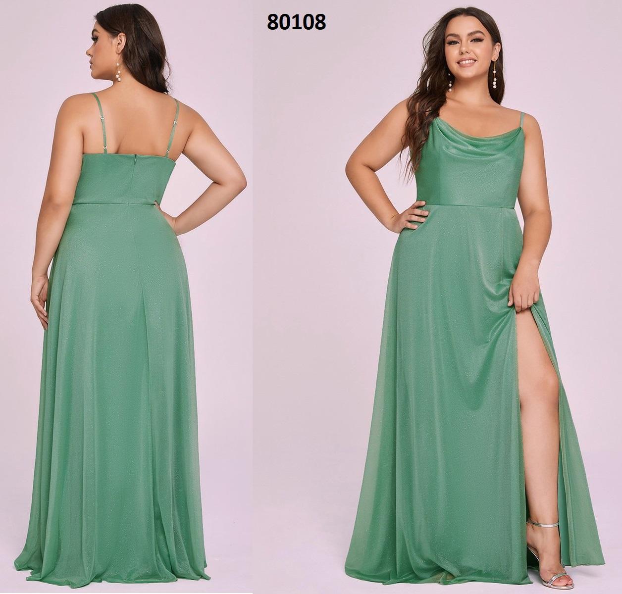 Lápiz silueta escote cuadrado vestidos de dama de honor 80108