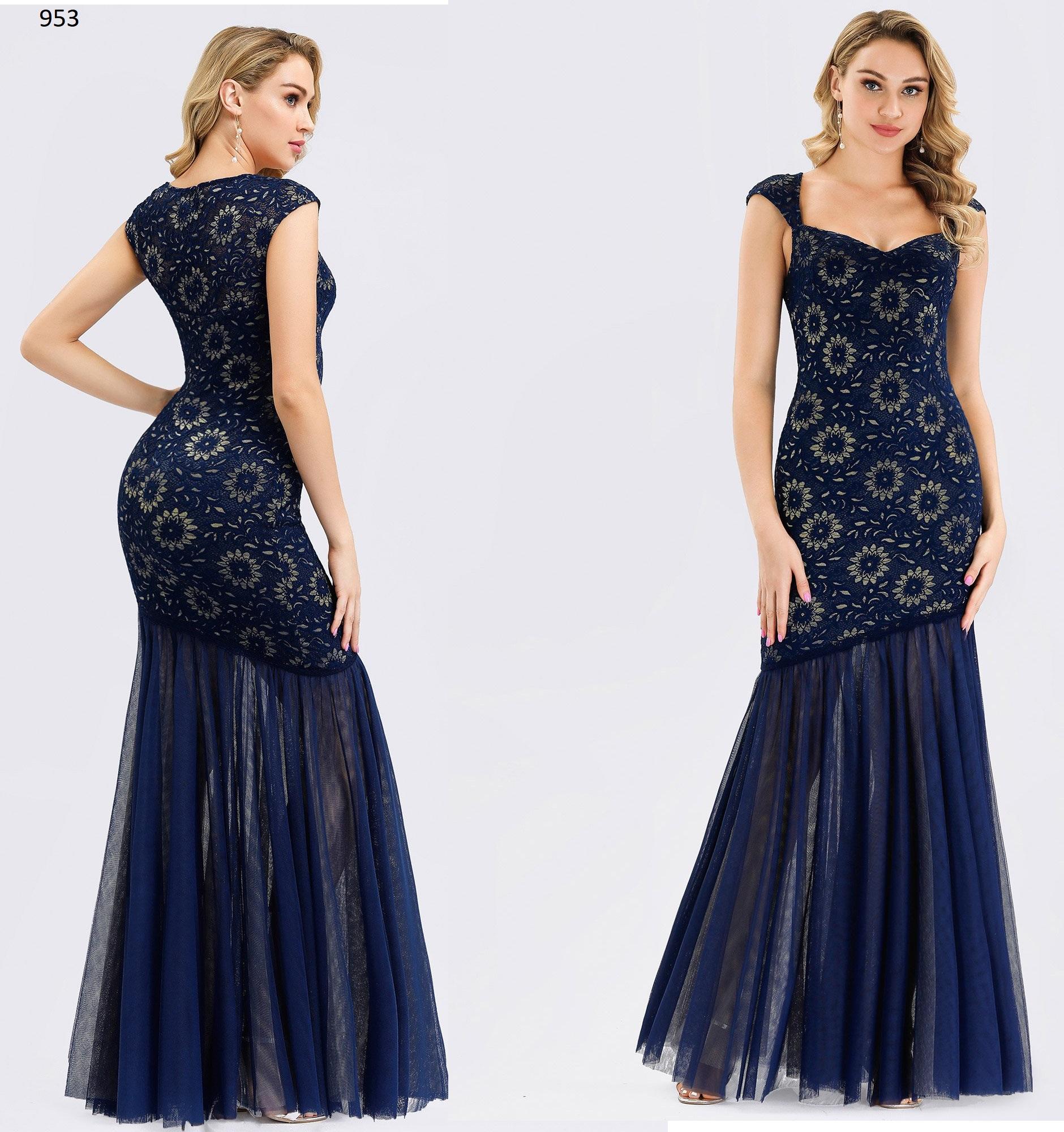 Vestido Largo 953 talla 44