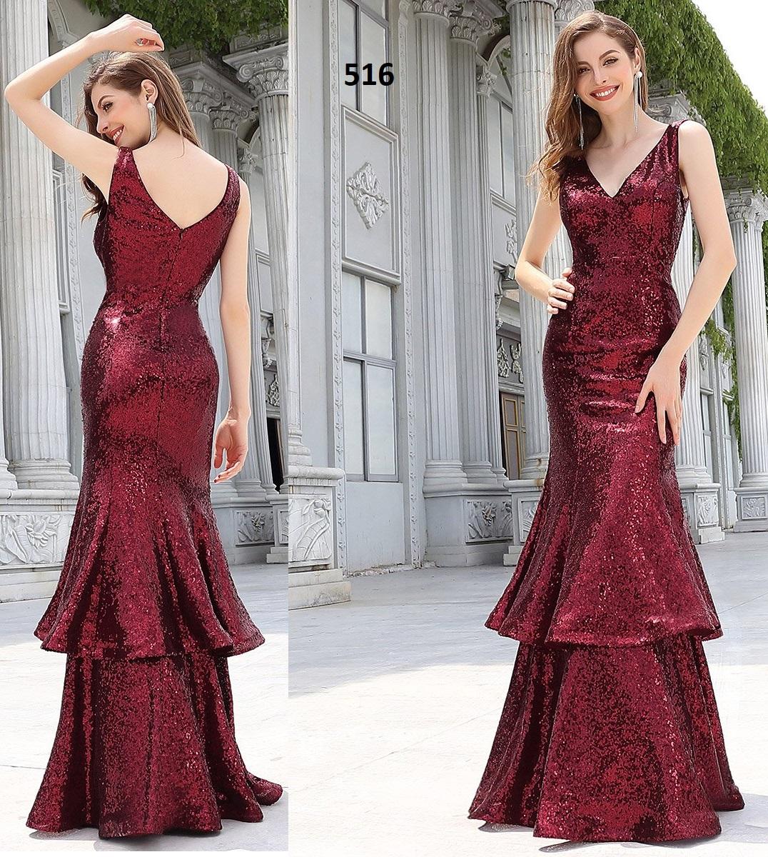 Vestido Largo 516 talla 44