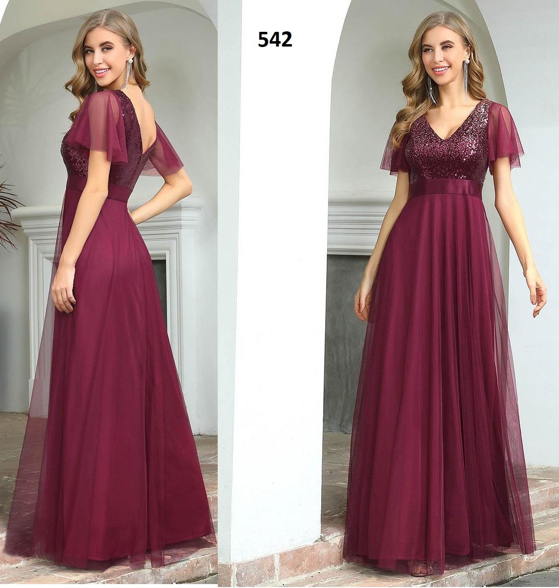 Vestido Largo 542 talla 42