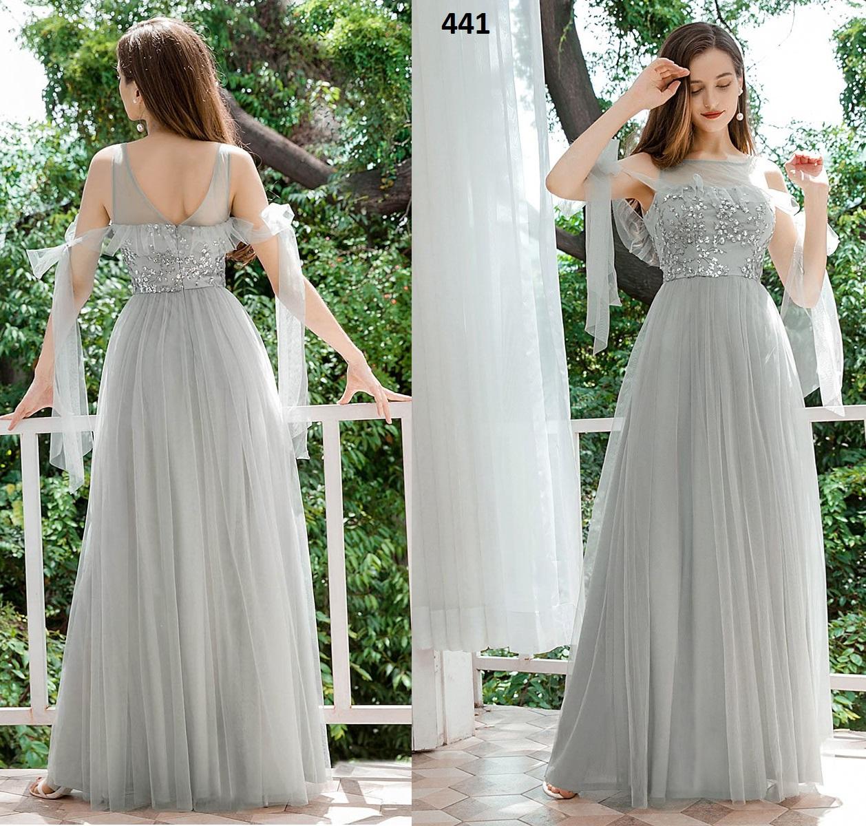 Vestido Largo 441 talla 44
