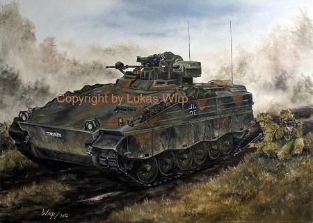 Marder 1 A3 mit Panzergrenadieren