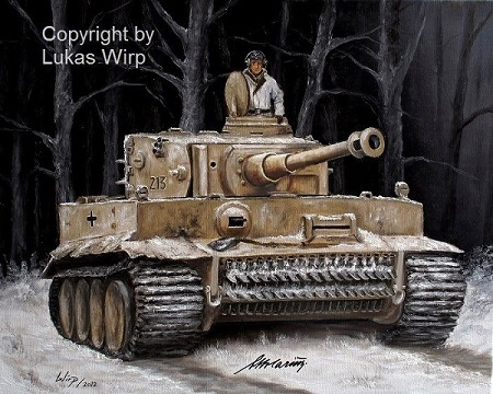 Tiger I von RK Otto Carius, Ostfront