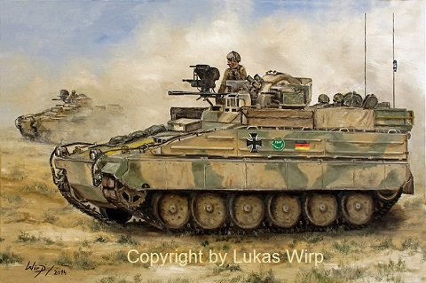 Marder 1 A5 Afghanistan Kundus