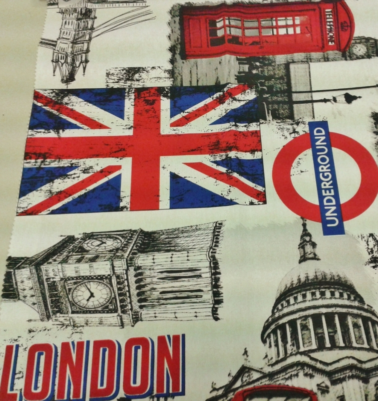 TESSUTO LONDON ORIGINALE 70%COT30%POL.