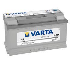 Bateria VARTA 100 Ah. H3