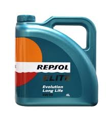 Aceite Repsol Evolution 5w30 Long Life