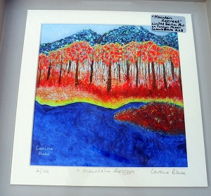 Limited Edition Print Mountain Retreet