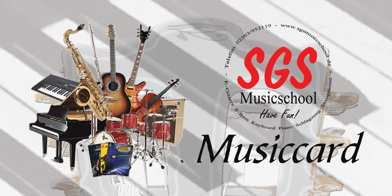 SGS Musiccard