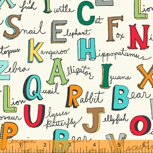 Animal ABC's Alphabet Print