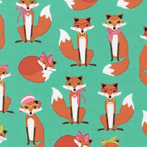 Fabulous Foxes Mrs Fox Aqua