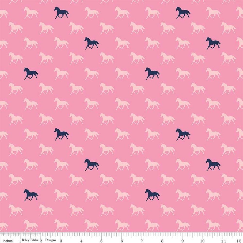 Riley Blake - Derby - Pink