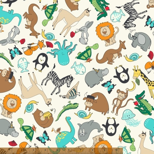 Animal ABC's Animal Print
