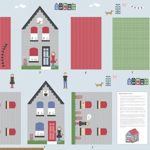 Windham Fabrics Neighborhood House Panel