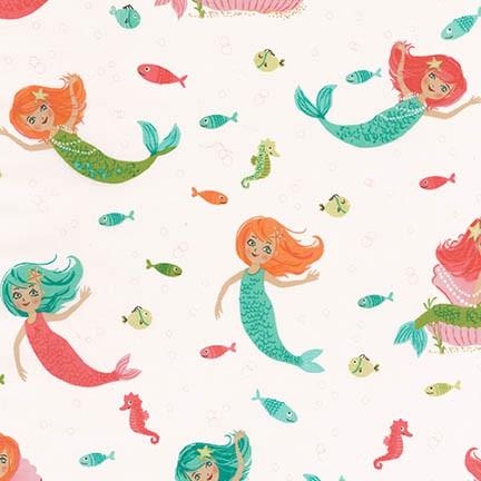 Aquatic Friends - Mermaid