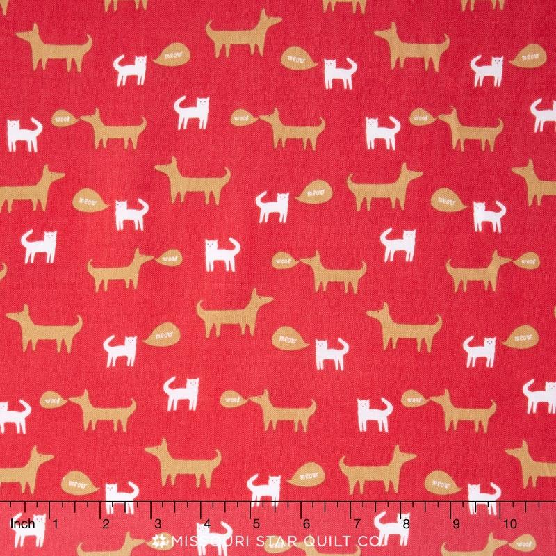 Windham Fabrics Neighborhood Cats & Dogs