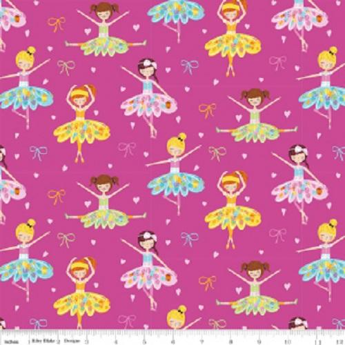 Ballerina Bows Pink Main