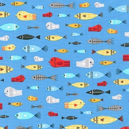 Robert Kaufman Message in a Bottle Fish