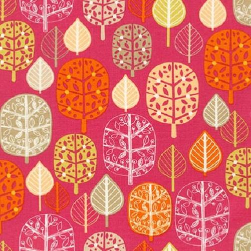 Robert Kaufman Acorn Forest Leaves