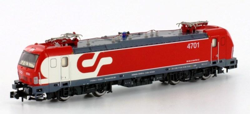 Hobbytrain H 2964 Locomotora eléctrica CP 4701de los ferrocarriles portugueses CP (escala N)