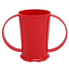 RED 2 HANDLED BEAKER