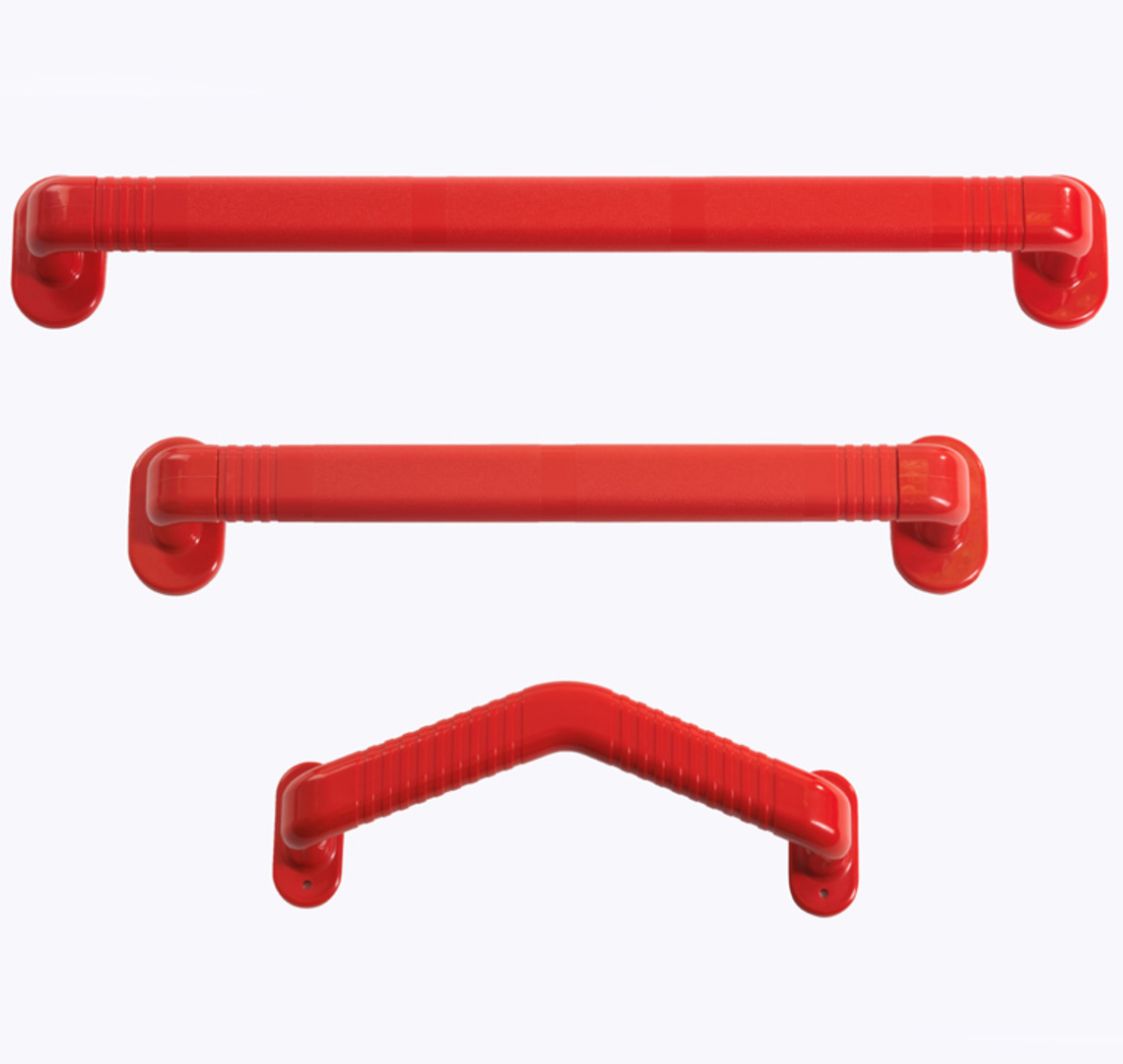 RED GRAB RAILS