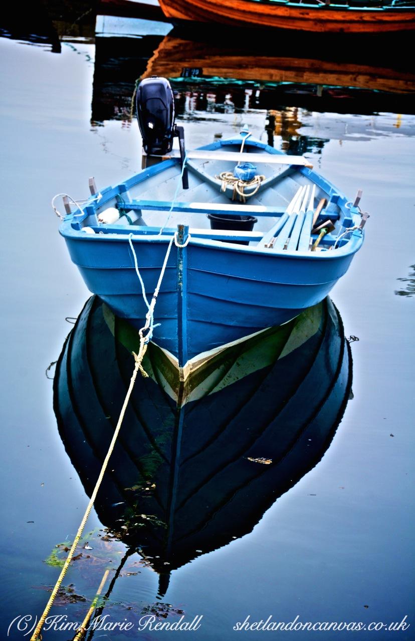 Peerie Boat at Hays Dock, Lerwick