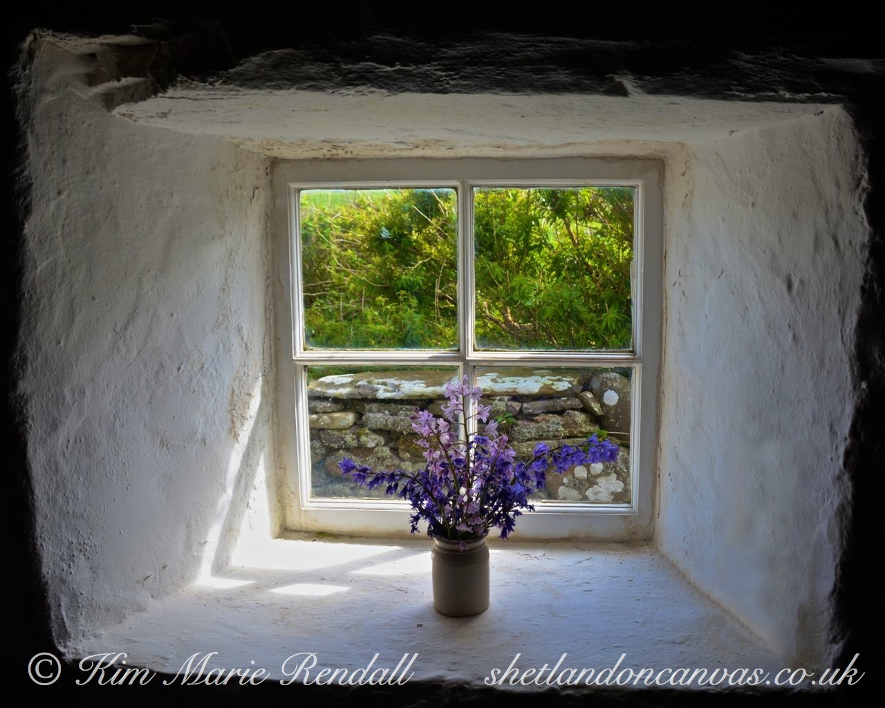 Croft House Window (1), Dunrossness